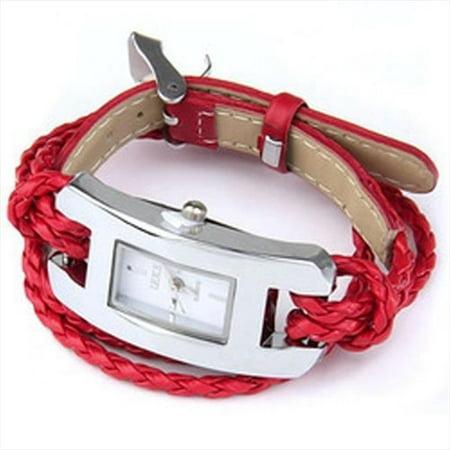 Best Desu 17322 Handmade Leather Bracelet Watch, (Best Russian Made Watches)