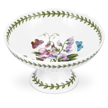 Botanic Garden Scalloped Edge Heart Shaped Dish, Perfect for candy, nuts, small soaps, etc. By Portmeirion