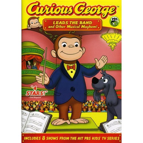 Curious George: Leads The Band And Other Musical Mayhem (Full Frame)