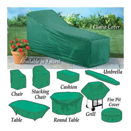 Seasonal Outdoor Patio Furniture Covers Green Cushion Bag