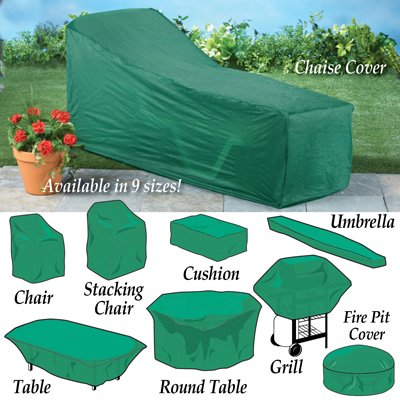 Seasonal Outdoor Patio Furniture Covers Green Cushion Bag Walmart Com Walmart Com