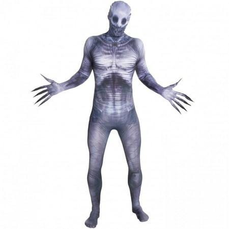 Morphsuits Men The Rake Internet Morphsuit Morphsuit, White Grey