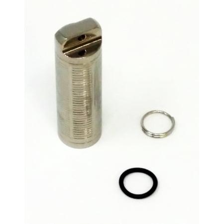 TI-EDC Titanium Slim simple Chambre Pill Fob - Support d'urgence Aspirine et Nitro [Open Box]