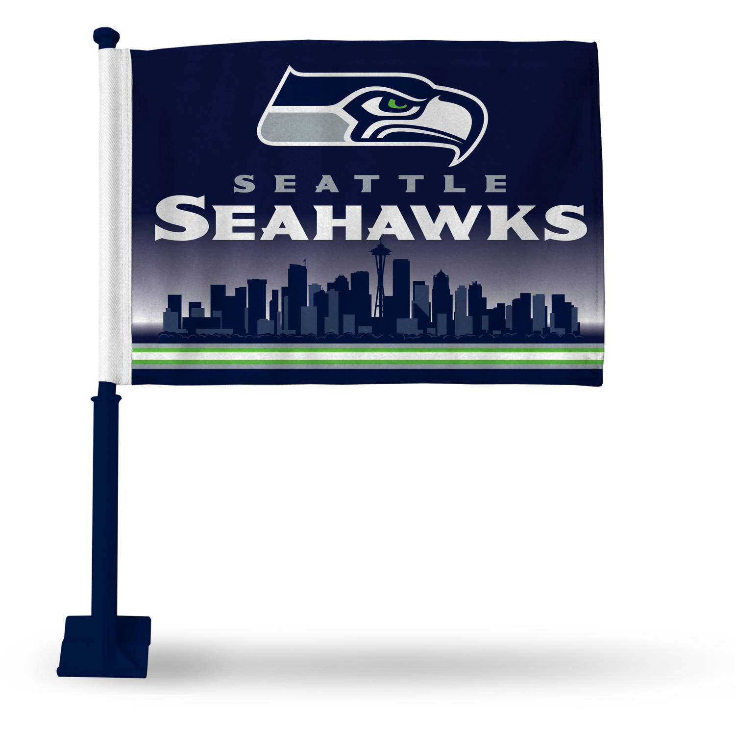NFL Seattle Seahawks Car Flag, Style 2