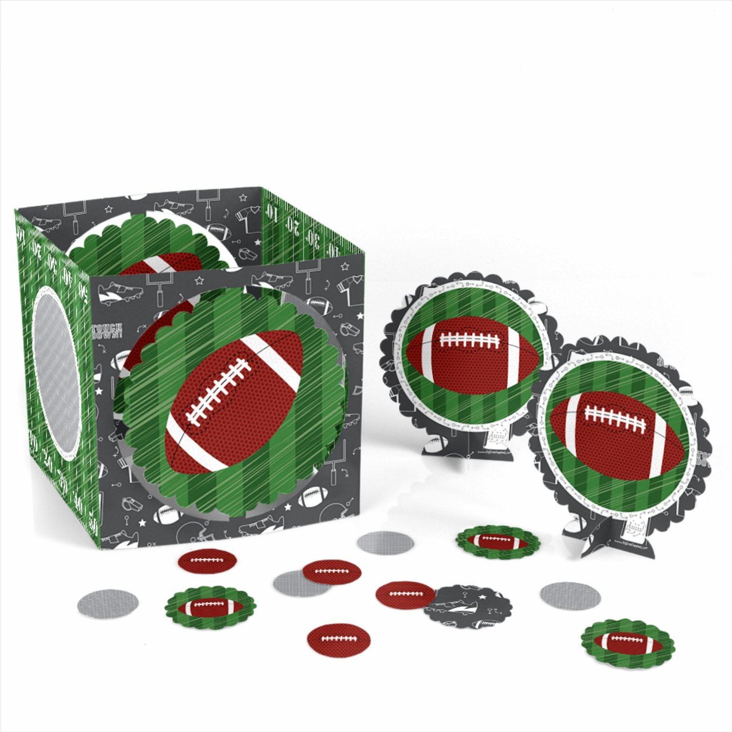 End Zone - Football - Party Table Decorating Kit