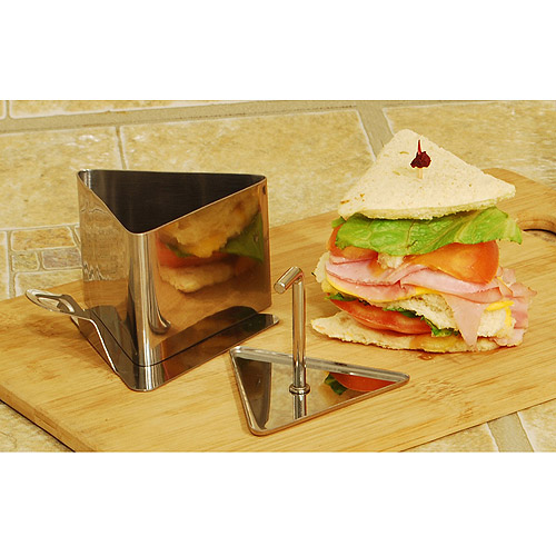 Cook Pro Stainless Steel Triangle Food Mold Set