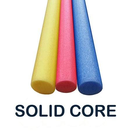 3 Pack Oodles of Noodles 60 Inch x 2.75 Inch Extra Long Foam Noodle Multi-Purpose - ASSORTED COLORS Bonus Sling Chair](Pool Noodle Crafts)