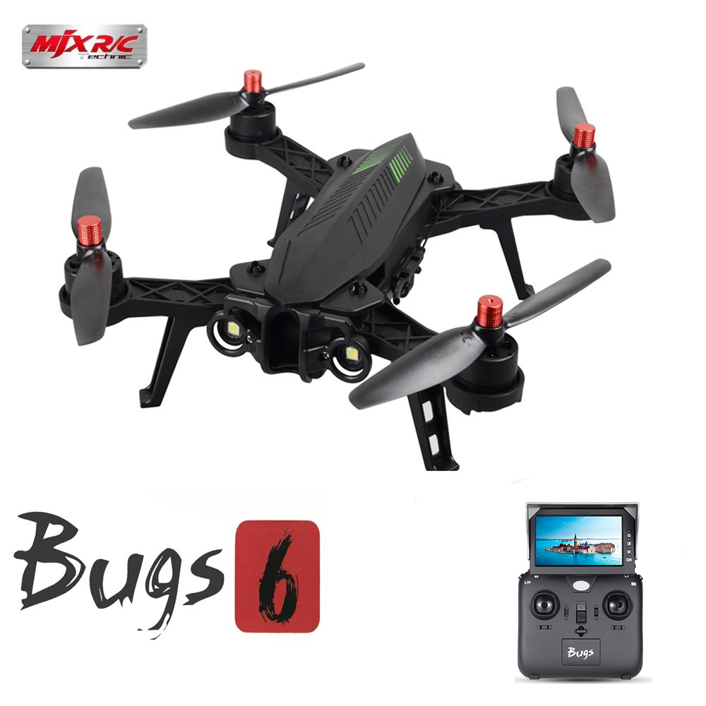 MJX Bugs 6 B6 720P Camera 5.8G 4CH FPV Drone High Speed Brushless Racing Quadcopter by