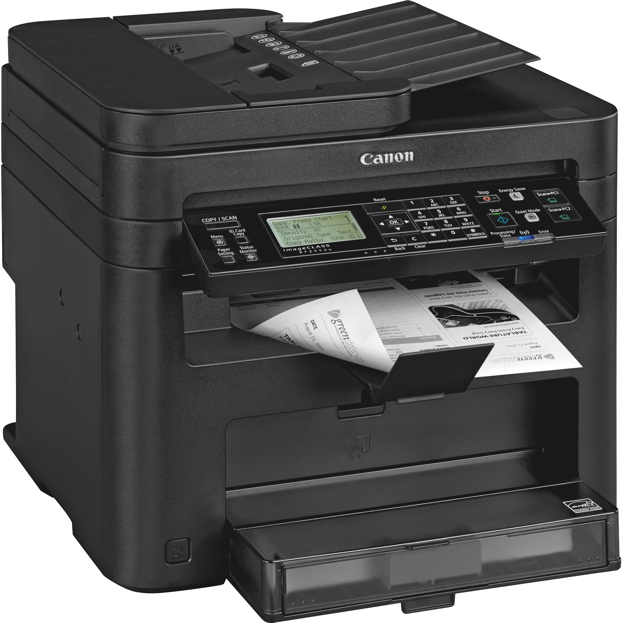 Canon imageCLASS MF244dw 3-in-1 Laser Printer