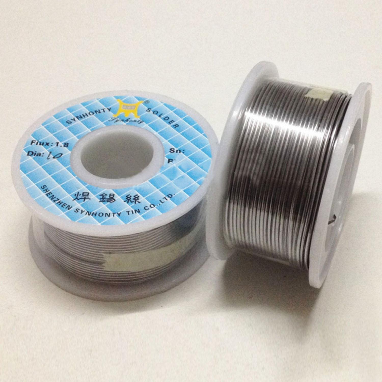 Tin Lead Solder Core Flux Soldering Welding Wire Spool Reel 0.8mm//1.0mm