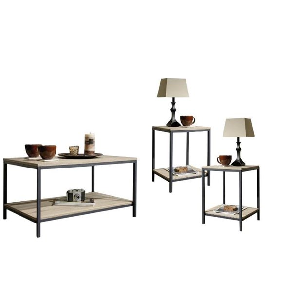 home square 3 piece living room coffee table set with