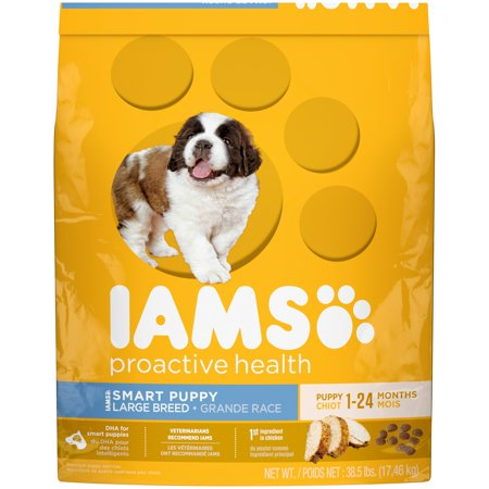 Iams Proactive Health Smart Breed Premium Puppy Nutrition Supplements, 38.5 Pound