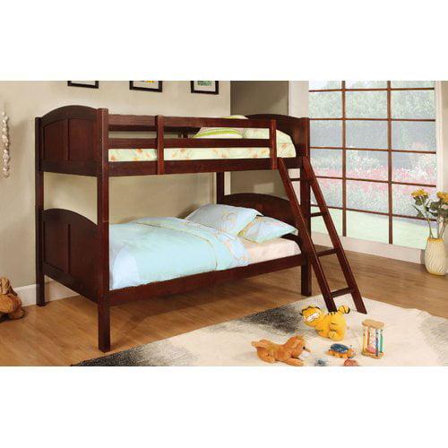 Harriet Bee Crags Twin over Twin Bunk Bed