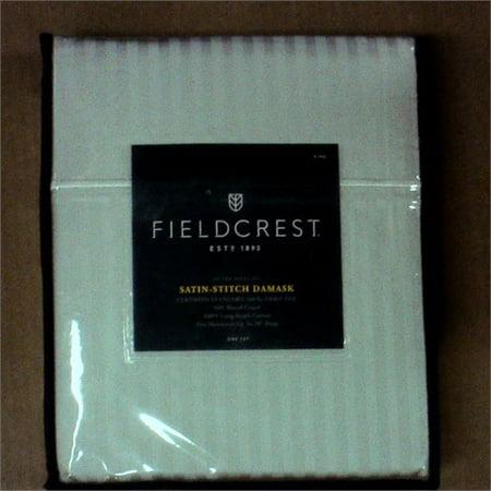 Damask Sheet Set 500 Thread Count - Fieldcrest King - Silver Stripes