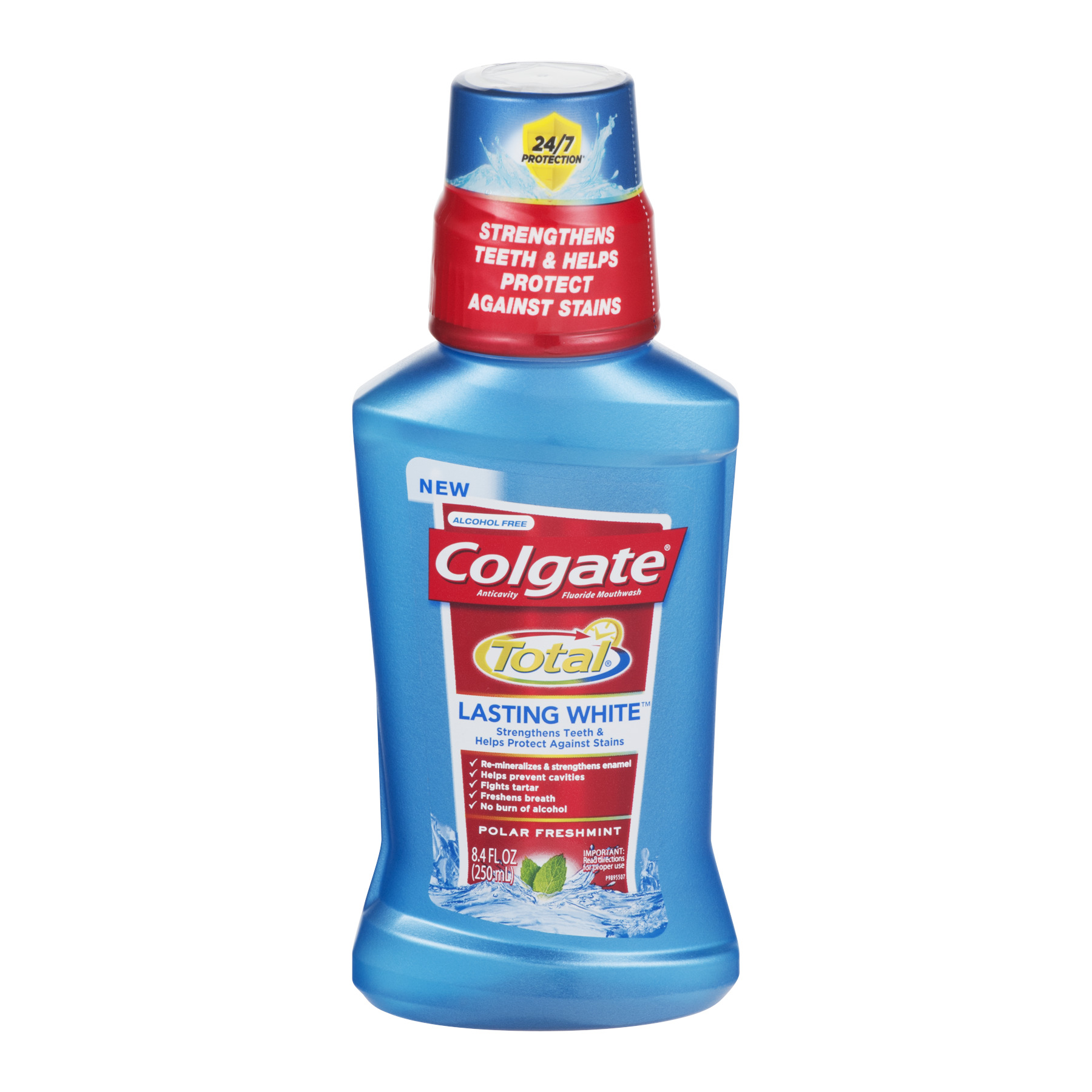 Colgate Total Lasting White Polar Mint Mouthwash - 8.4 fl oz