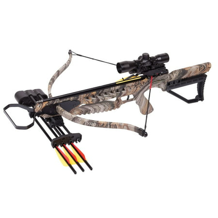 CenterPoint Archery TYRO Recurve Crossbow 245 FPS Kit with 4x32mm Scope  AXRT175CK4X