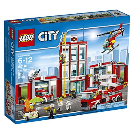 LEGO CITY Fire Station 60110 (Party City College Station)