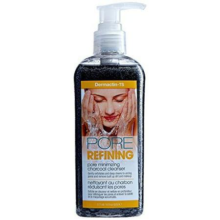 Dermactin-TS Pore Refining Charcoal Cleanser Gel, 6 Fluid