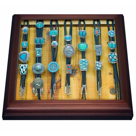 3dRose New Mexico, Gallup, Bolo Ties For Sale, Market - US32 RTI0045 - Rob Tilley, Trivet with Ceramic Tile, 8 by 8-inch