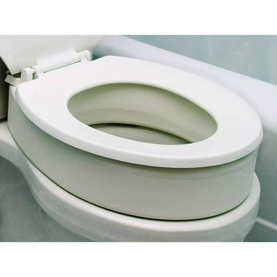 Stupendous Essential Medical Supply Toilet Seat Riser Elongated Shape Forskolin Free Trial Chair Design Images Forskolin Free Trialorg
