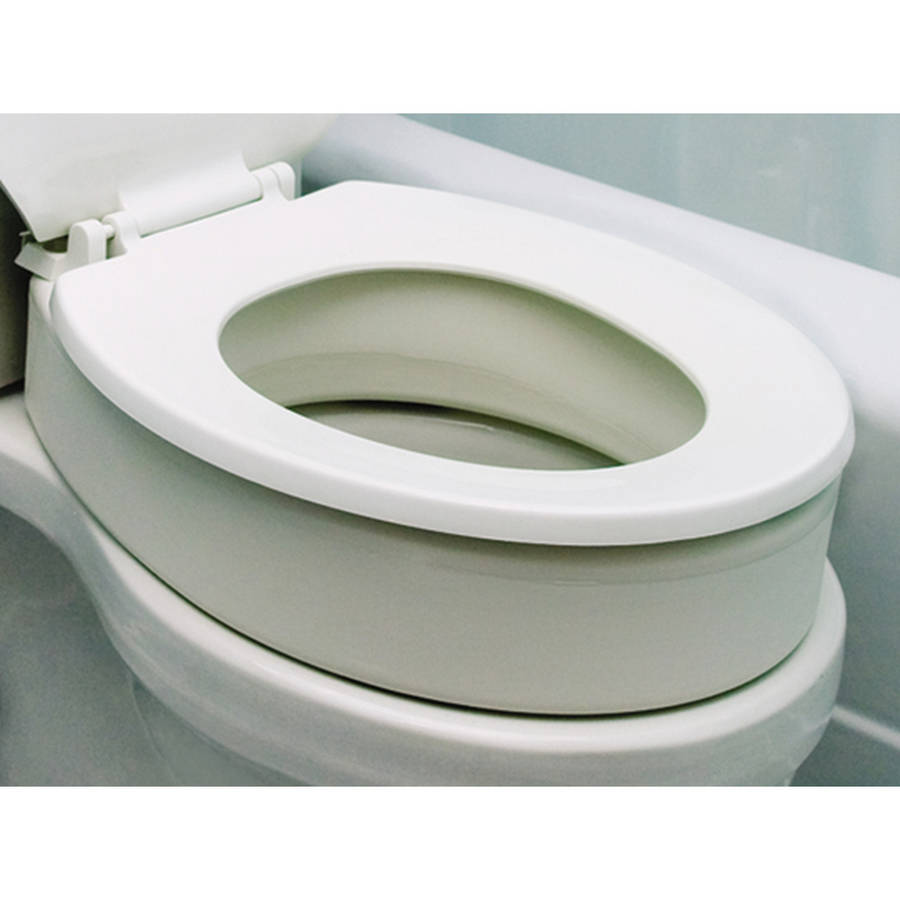 Toilet Seat Riser for Standard Size Bowl