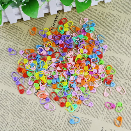 Crochet Collar Knit - 200Pcs Knitting Crochet Locking Stitch Needle Clip Markers Holder
