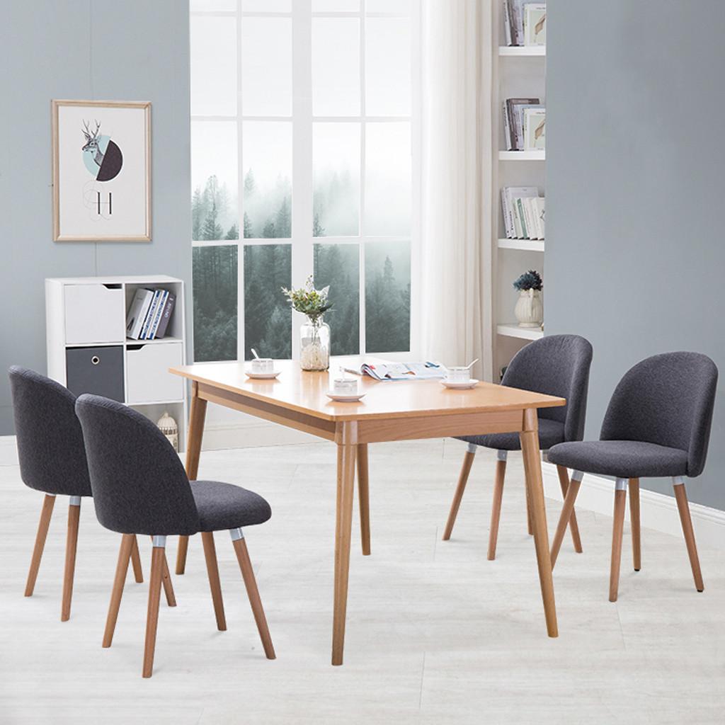GRAN 2PC Velvet Dining Chairs For Living Room Modern Side ...