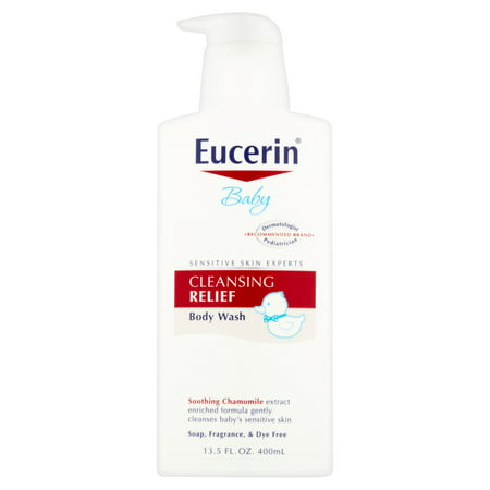 Eucerin Baby Cleansing Relief Body Wash, 13 5 fl oz