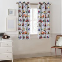 Mainstays Grommet Room Darkening Transportation Kids Bedroom Curtain Panel