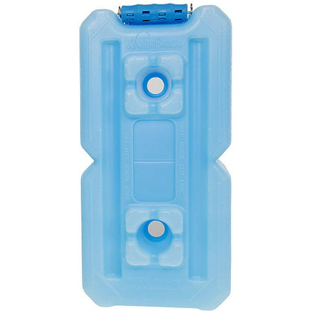 Mix 3.5 Gallon Tin - WaterBrick - Stackable Water/Food Container - 3.5 gallon - Blue