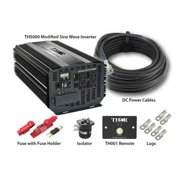 Thor TH5000 KIT3 TH001 Remote With 10 ft. of 3-0 Cable With 400 Amplifier Fuse With 500 Amplifier Isolator