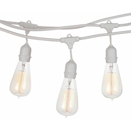 Nostalgic Outdoor String Lights : Brightech Ambience Pro Vintage Edition Outdoor Commercial String Lights with Nostalgic Edison ...