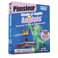 Pimsleur English for French Speakers Quick & Simple Course - Level 1 Lessons 1-8 CD : Learn to Speak and Understand English for French with Pimsleur Language Programs