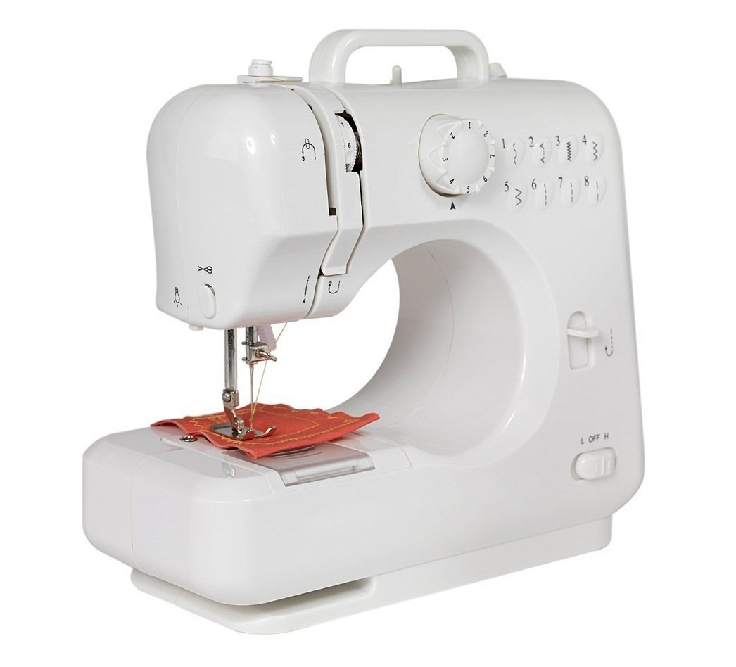 Michley LSS-505 Lil Sew and Multi-Purpose Sewing Machine with Built-in Stitches