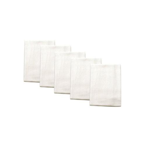 Mainstays 5pk Flour Sack Kitchen Towel, White