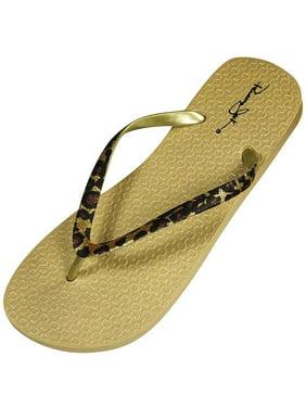 8f3ac9778bc9d Product Image Panama Jack - Ladies Flip Flop Sandal Black Leopard   Medium