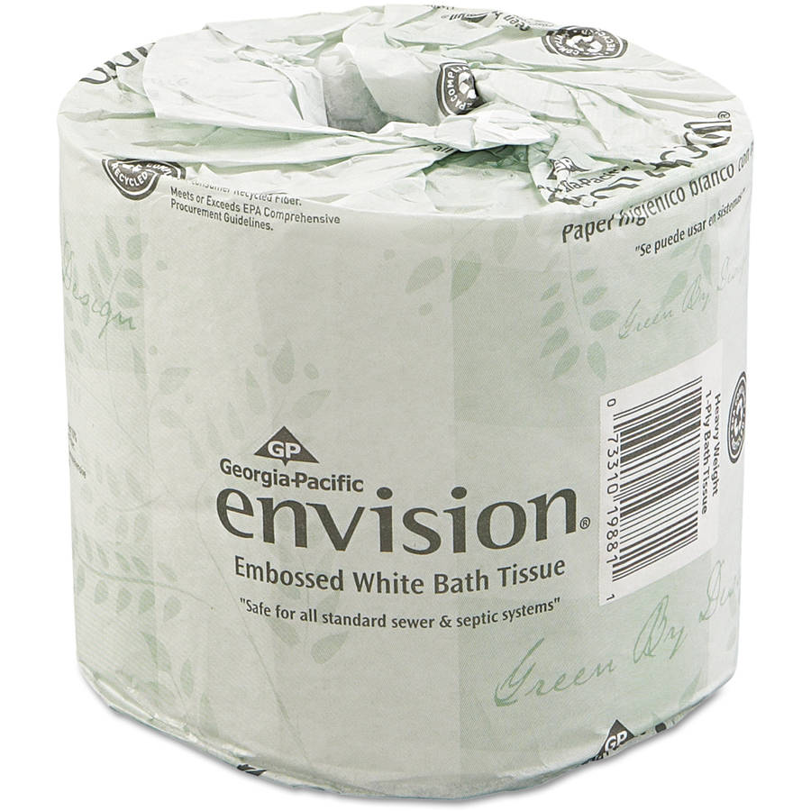 Georgia Pacific Envision Bathroom Tissue, 550 sheets, 80 ct