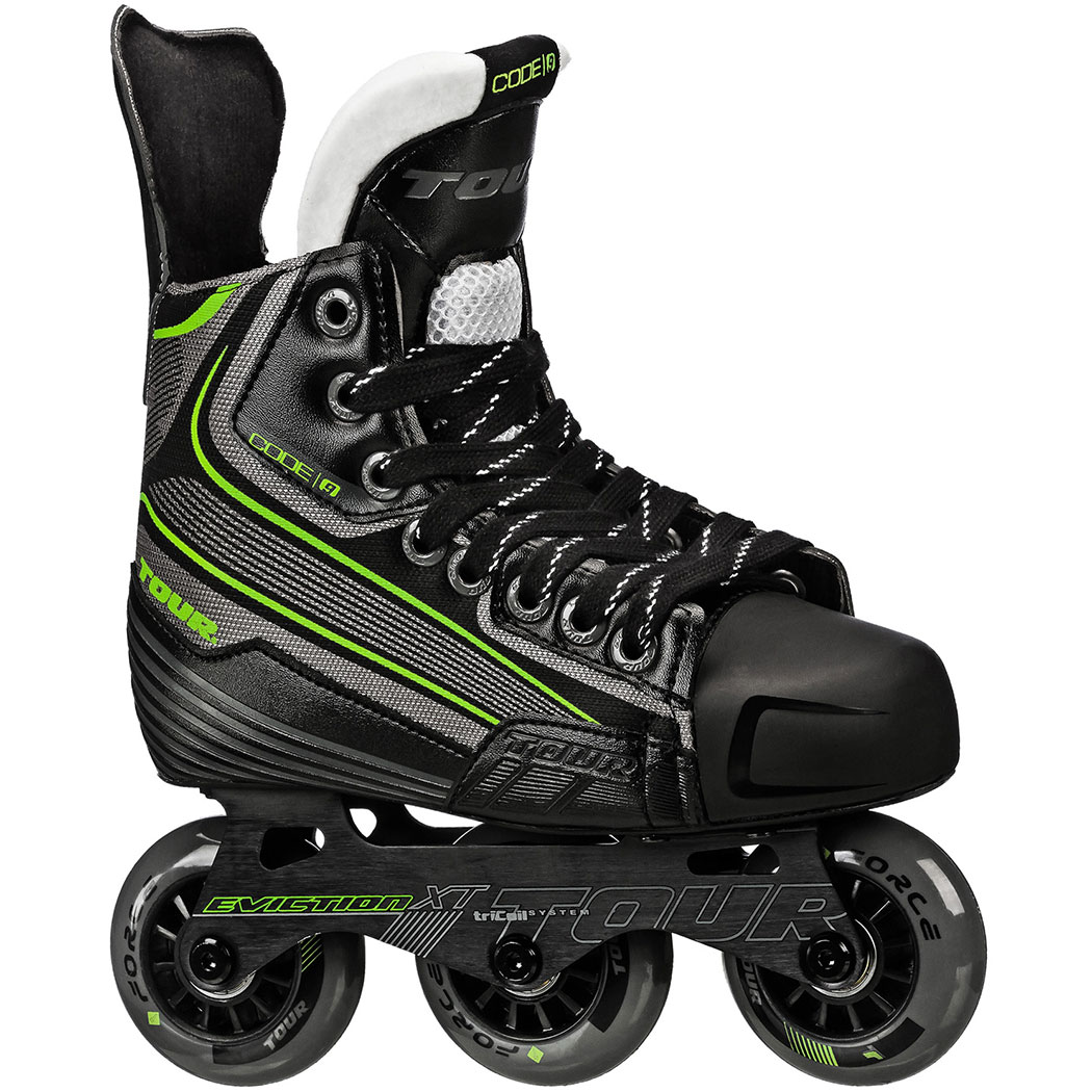 TOUR HOCKEY CODE 9 JR INLINE HOCKEY SKATE KIDS SIZE 12 by Tour