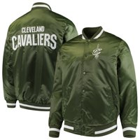 Cleveland Cavaliers Starter Satin Full-Snap Jacket - Green