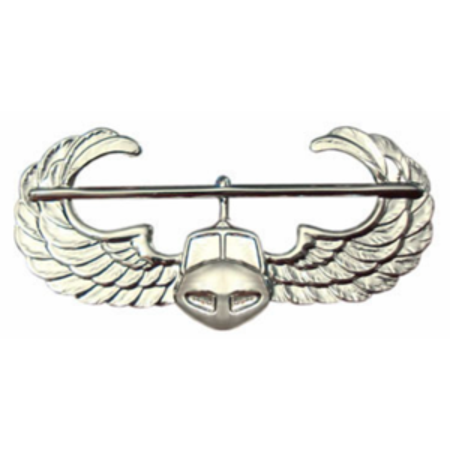 Army Air Assault Badge (Mirror Finish)