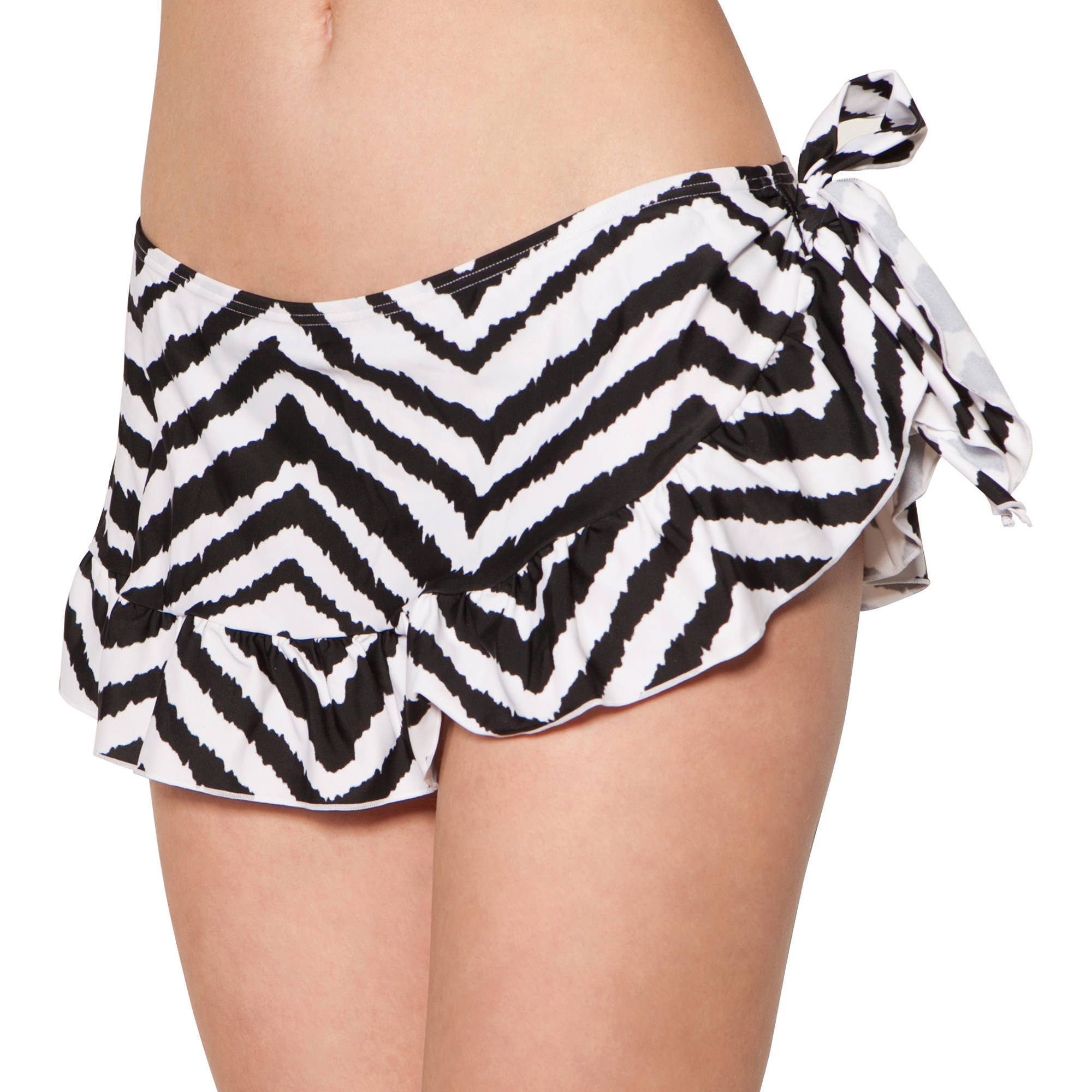 Smart & Sexy Women's Plus-Size Ruffle Skirted Swimsuit Bottom