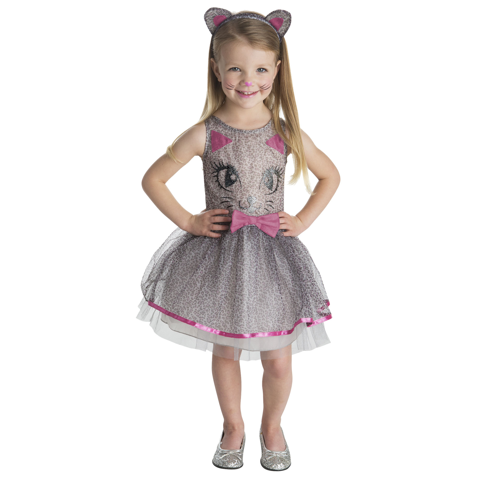 Girl Ms Kitty Medium Halloween Dress Up / Role Play