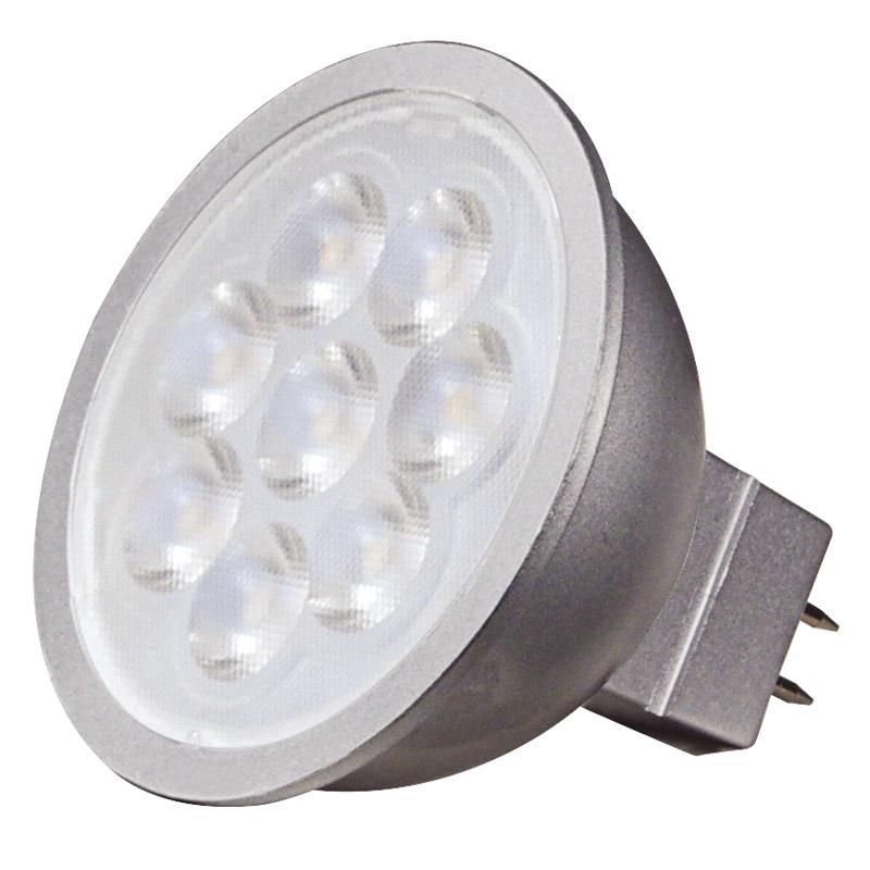 Satco 6.5W MR16 LED Dimmable 4000K Cool White Flood Light Bulb