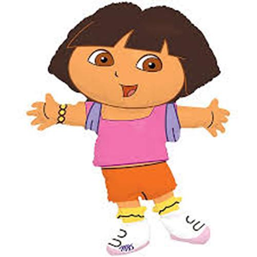 """Jumbo Dora The Explorer Character Foil / Mylar Balloon 32"""""""