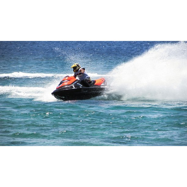 Speed Sport Summer Jet Ski Water Fast Fun 24 Inch By 36 Inch Laminated Poster With Bright Colors And Vivid Imagery Fits Perfectly In Many Attractive Frames Walmart Com Walmart Com