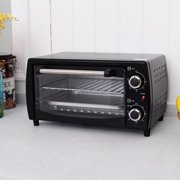Costway 750w Electric Toaster Oven Broiler Pizza 10l