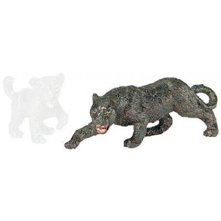 Safari Panther (Safari Ltd Wild Safari Wildlife - Black Panther - Realistic Hand Painted Toy Figurine Model - Quality Construction From Safe and BPA Free Materials - For Ages 3 and Up )