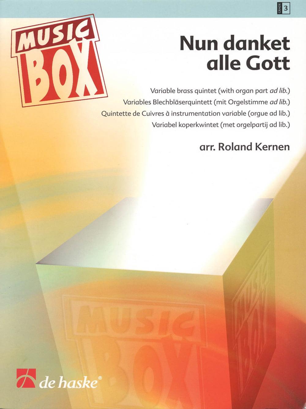 De Haske Music Nun danket alle Gott (Now Thank We All Our God) De Haske Ensemble Series... by De Haske Music