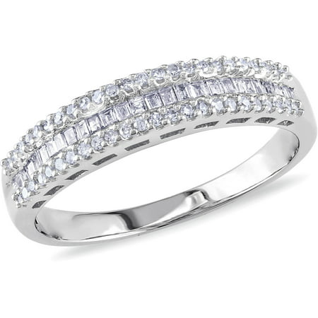 - 1/3 Carat T.W. Diamond Eternity Ring in 10kt White Gold