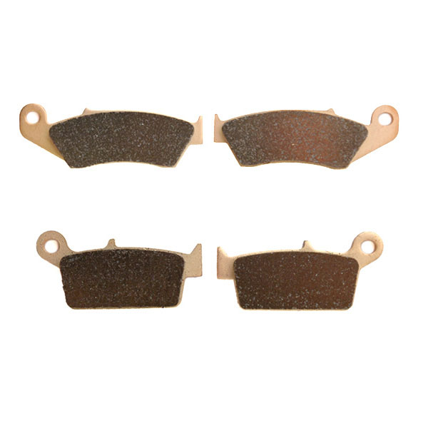 1995-2007 Kawasaki KX250 Sintered HH Front & Rear Brake Pads